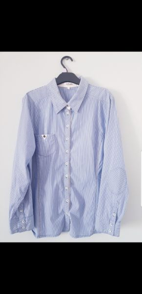 Koszule Koszula w błękitne paski