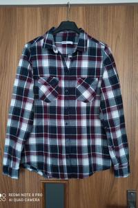 Koszula w kratę S 36 Cropp