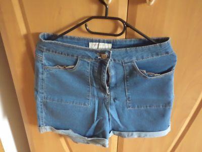 Spodenki Szorty spodenki jeans kieszenie na suwak