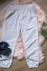 szare spodnie Calliope...