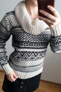 Sweter z golfem Tally Weijl rozmiar XS S...