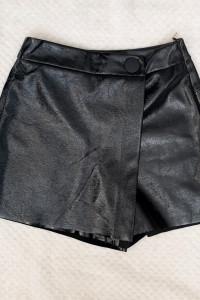 Nowe spódnico spodenki Zara lateksowe rozmiar XS