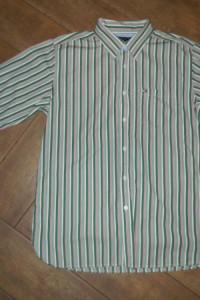 Tommy Hilfiger golf koszula w paski roz M...