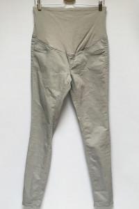 Spodnie Szare Rurki H&M Mama XL 42 Ciążowe Ciąża...