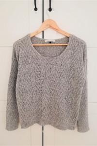 Szary sweterek Only S...