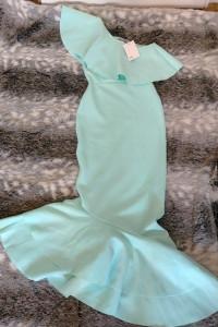 Suknia sukienka Asos rybka na jedno ramię...