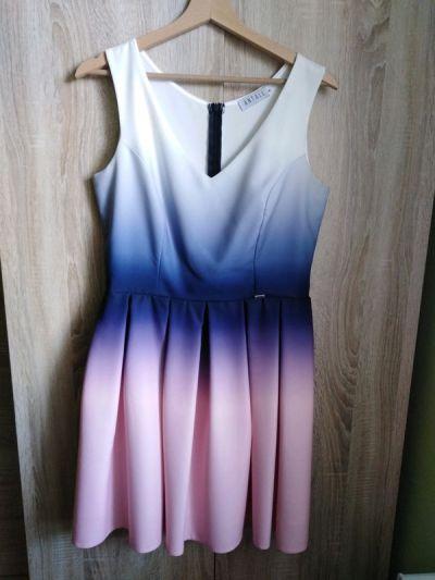 Suknie i sukienki Antall Sukienka L ombre 40