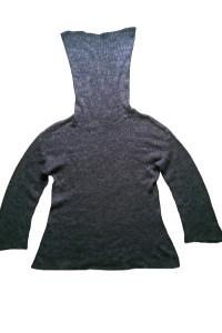 Damski sweter golf z kominem r M...