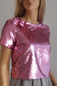 bluzka cekiny M L święta sylwester wesele New Look