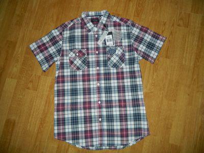 Koszule Top Secret męska koszula krata roz 40 41
