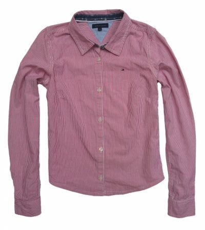 Bluzki TOMMY HILFIGER koszula dla dziewczynki Logo 128cm