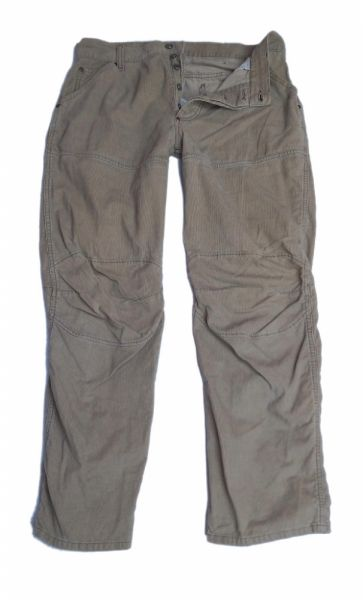 Spodnie G STAR męskie spodnie sztrukcowe beżowe 36 32