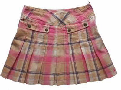 Spódnice TOMMY HILFIGER spódnica plisowana kratka 38 M