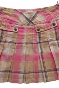TOMMY HILFIGER spódnica plisowana kratka 38 M...