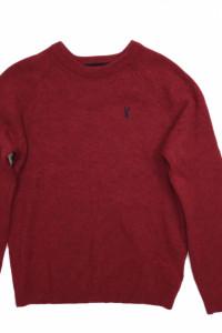 Sweter męski Lambs Wool wełna owcza Next roz S...