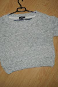 Missguided krótki luźny sweter roz 38...