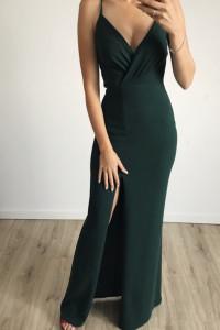 Długa elegancka suknia 36