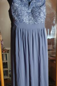 Śliczna długa suknia...