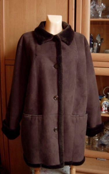 Odzież wierzchnia Pier Angelini krótki kożuch jak naturalny 52 54