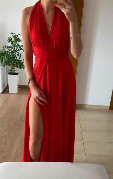 Suknie i sukienki Śliczna długa suknia