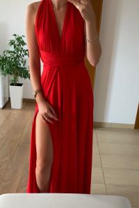 Śliczna długa suknia