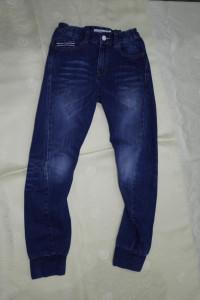 Denim spodnie chłopięce 140