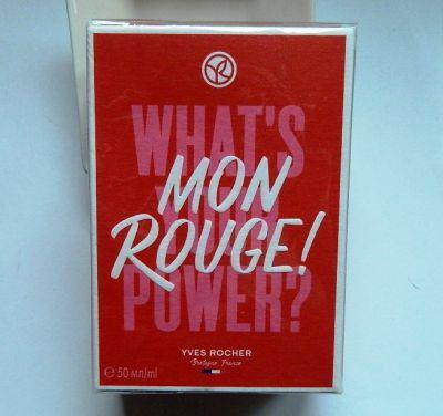 Perfumy Mon rouge Yves Rocher perfum 50 ml