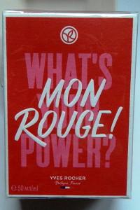 Mon rouge Yves Rocher perfum 50 ml...