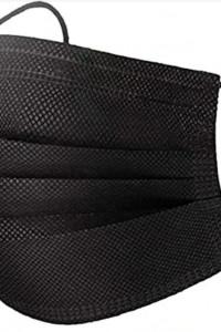 Maseczka czarna ochronna jednorazowa 40szt