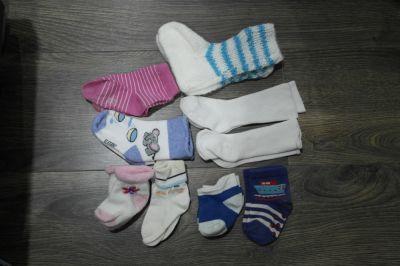 Rajstopy i skarpetki Skarpetki dla niemowlaka 9 par