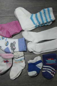 Skarpetki dla niemowlaka 9 par...