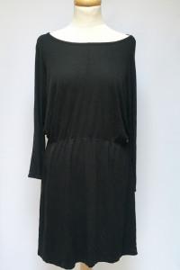 Sukienka Czarna H&M Basic L 40 Czerń Oversize...