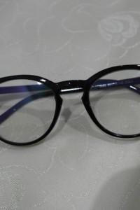 Dwie sztuki okularów zerówki