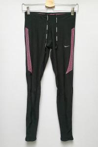 Legginsy Sportowe Czarne Nike Running Dri Fit XS 34...