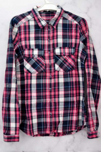 Koszula damska w kratę czerwona Reserved...