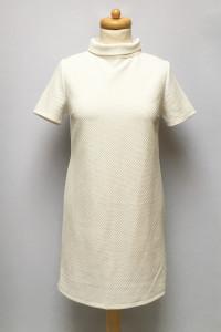 Sukienka Biała NOWA Golf Pikowana S 36 Fashion Union...