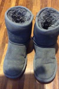 Butki skórzane dla dziecka zimowe