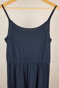 Granatowa sukienka maxi esmara M L
