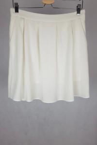 Biała ecru spódniczka M
