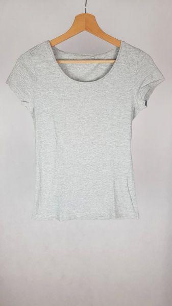 T-shirt Bluzka basic szara C&A XS