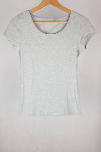 Bluzka basic szara C&A XS...