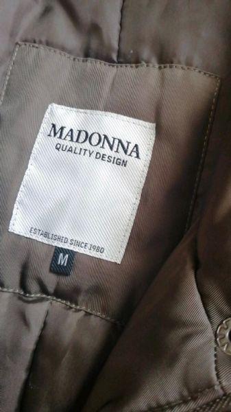 Odzież wierzchnia Kurtka Płaszcz Damska Zimowa Madonna Khaki Quality Design M Nowa