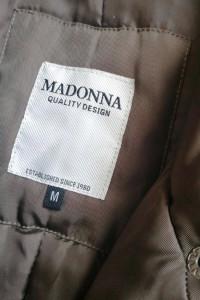 Kurtka Płaszcz Damska Zimowa Madonna Khaki Quality Design M Nowa