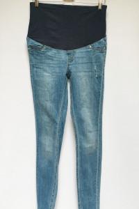 Spodnie H&M Mama Tregginsy M 38 Super Skinny Rurki...