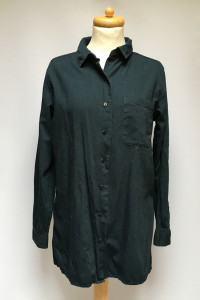 Koszula Granatowa Cubus M 38 Bawełna Elegancka...