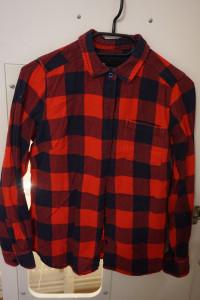 Koszula w krate granatowo czerwona Carry S...