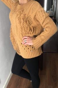 Sweter Cocomore w stylu Boho...