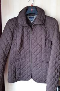 Tommy Hilfiger brązowa kurtka pikowana
