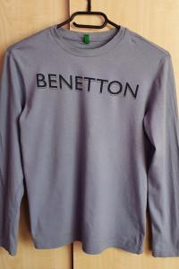 Szara bluzka chłopięca Benetton 150
