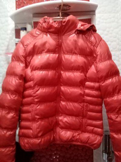 Odzież wierzchnia Czerwona kurtka damska zimowa
